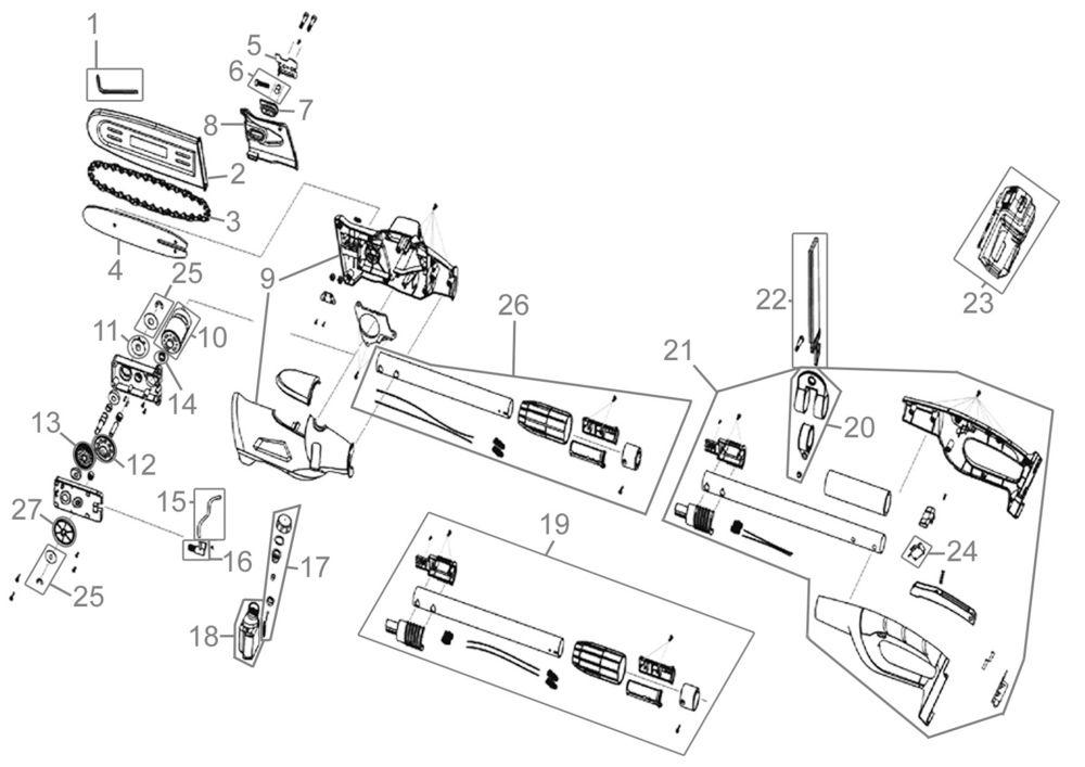 ersatzteile von g de holzbearbeitung akku astkettens ge. Black Bedroom Furniture Sets. Home Design Ideas