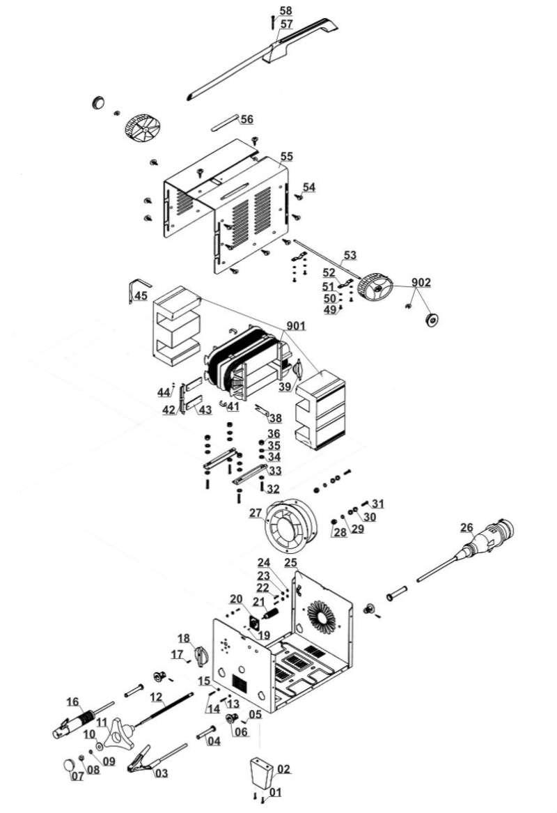 ersatzteil kondensator f r elektro schweissger t parkside. Black Bedroom Furniture Sets. Home Design Ideas