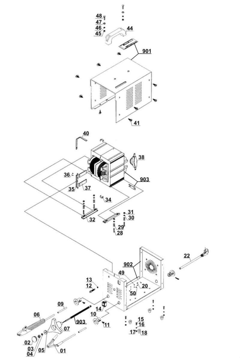 ersatzteil elektrodenhalter f r elektro schweissger t. Black Bedroom Furniture Sets. Home Design Ideas