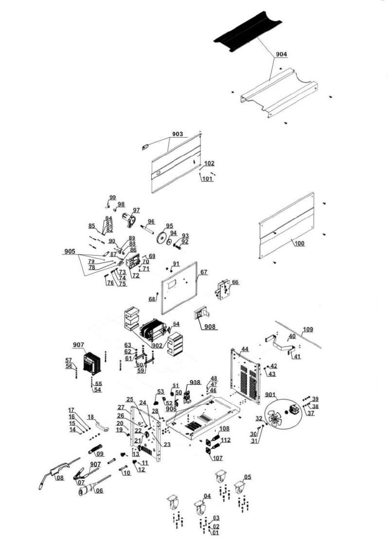 ersatzteil gleichrichter f r schutzgas schweissger t. Black Bedroom Furniture Sets. Home Design Ideas
