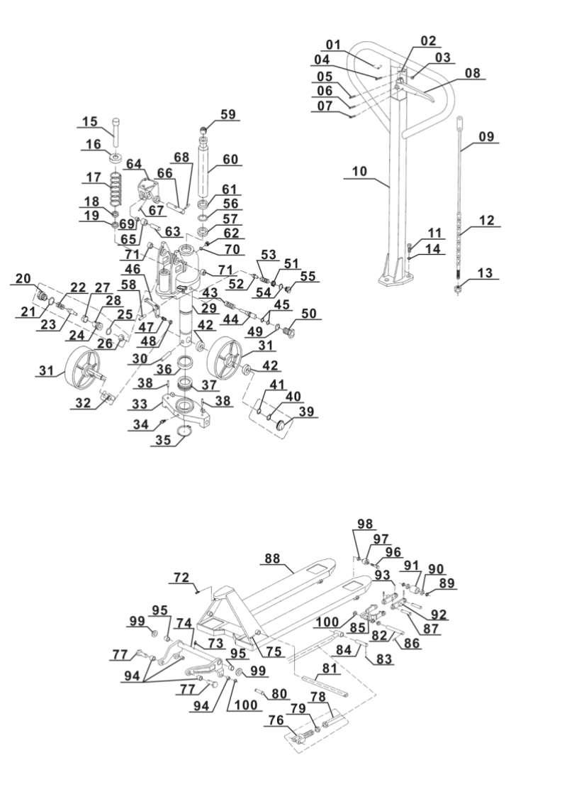 ersatzteile von einhell blue aus der zeichnung. Black Bedroom Furniture Sets. Home Design Ideas