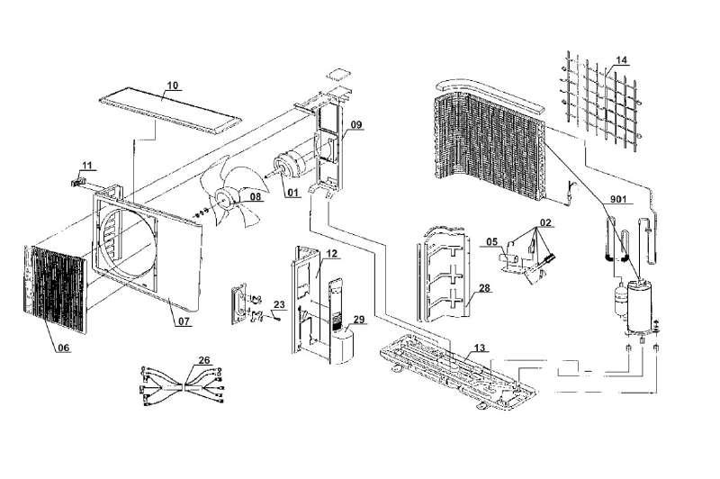 Einhell Ersatzteil Lüfter für Split-Klimaanlage SKA 5000 C+H aus der ...