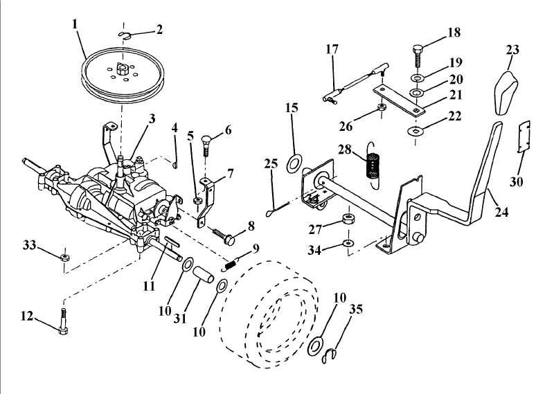 ersatzteile von einhell aus der zeichnung traktor. Black Bedroom Furniture Sets. Home Design Ideas