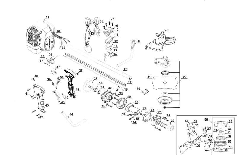 ersatzteil sicherungsring f r benzin sense gardenline glbc. Black Bedroom Furniture Sets. Home Design Ideas