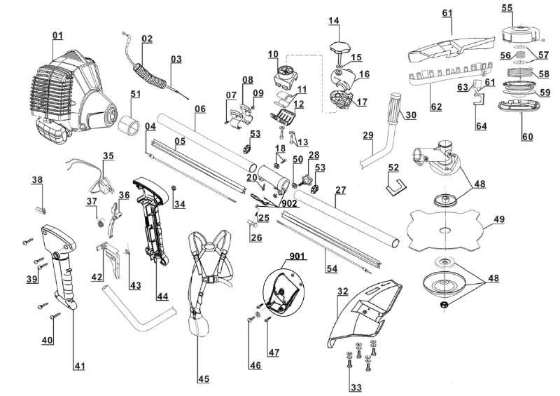 ersatzteil benzinleitung f r benzin sense einhell bg bc 43. Black Bedroom Furniture Sets. Home Design Ideas