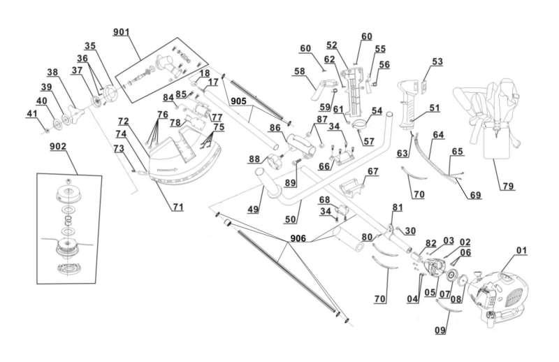 ersatzteile von mr gardener aus der zeichnung benzin. Black Bedroom Furniture Sets. Home Design Ideas