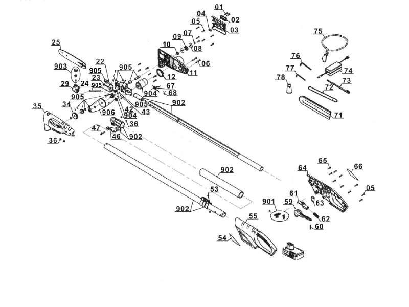 gardenline ersatzteil kettenradabdeckung f r akku hochentaster gltah 18 aus der ersatzteil. Black Bedroom Furniture Sets. Home Design Ideas