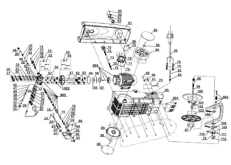 ersatzteile der kategorie ersatzteile zeichnungen king craft station. Black Bedroom Furniture Sets. Home Design Ideas