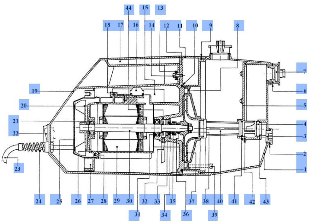 ersatzteil laufrad f r hauswasserwerk einhell jet gp jet. Black Bedroom Furniture Sets. Home Design Ideas