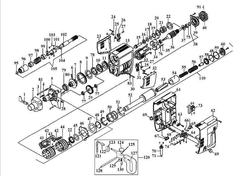 ersatzteil vielzahnwelle f r elektro bohrhammer einhell hbmh 1100 aus dieser zeichnung 32 62. Black Bedroom Furniture Sets. Home Design Ideas