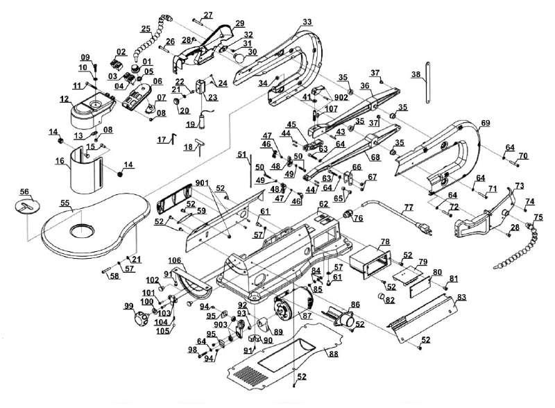 ersatzteil s geblatt f r dekupiers ge lux tools dks 120 aus dieser zeichnung 3 95. Black Bedroom Furniture Sets. Home Design Ideas