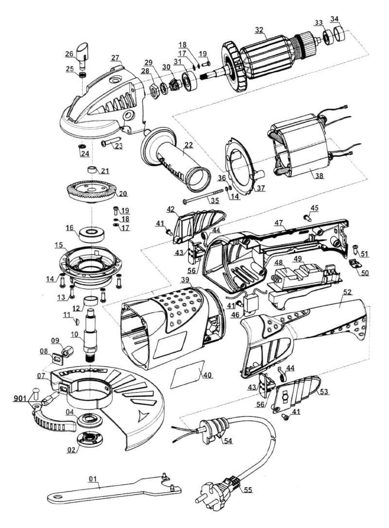 ersatzteil spannflansch f r winkelschleifer lux tools ws 230 aus dieser zeichnung 5 47. Black Bedroom Furniture Sets. Home Design Ideas