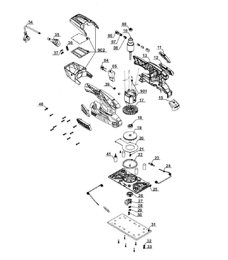 ersatzteil aluminiumplatte f r schwingschleifer lux tools. Black Bedroom Furniture Sets. Home Design Ideas