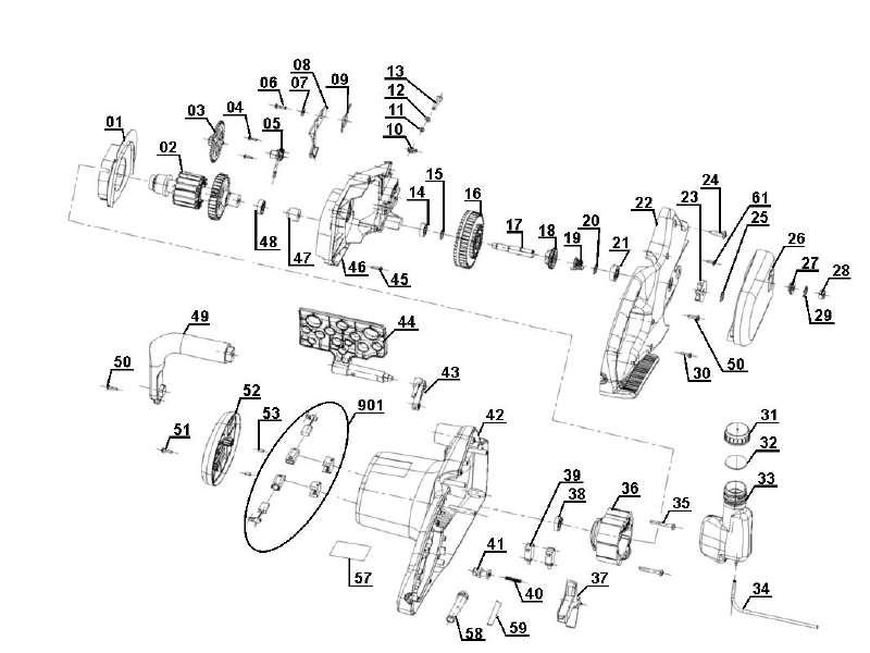 ersatzteile der kategorie ersatzteile zeichnungen einhell. Black Bedroom Furniture Sets. Home Design Ideas