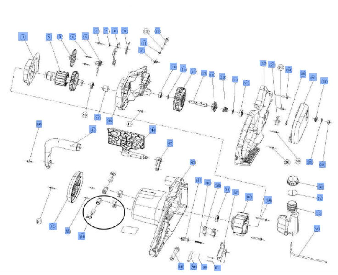 ersatzteil lpumpe f r elektro kettens ge einhell pks 1840 pos 005 12 95. Black Bedroom Furniture Sets. Home Design Ideas