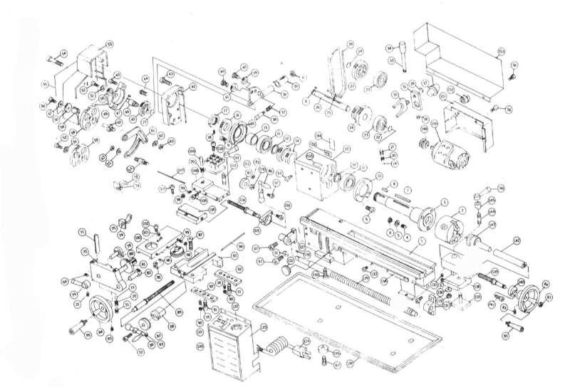 ersatzteile von einhell aus der zeichnung metall drehbank. Black Bedroom Furniture Sets. Home Design Ideas